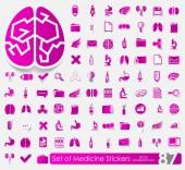 Adesivos médicos — Vetorial Stock