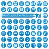 Medical flat icons — Vetorial Stock