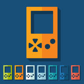 Flat design: video game — Stock Vector