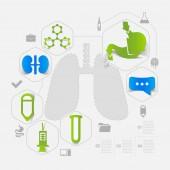 Medicine sticker — Wektor stockowy