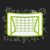 Gate business formulas — Stock Vector
