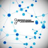 Molecular structure — Stock Vector