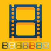 Film illustration — Stock Vector