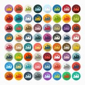 Jointer icons — Stock Vector