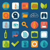 Medical icons — Vecteur