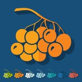 Berries icons — Stock Vector