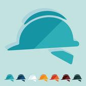 Helmet icons — Stockvektor