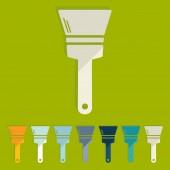 Paint brush icons — Vecteur