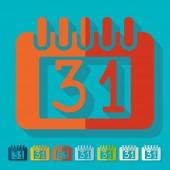 Calendar icons — Stock Vector