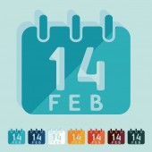 Valentine's day icons — Stock Vector