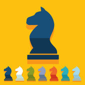 Chess icons — Stock Vector