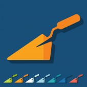 Trowel icons — Stock Vector