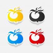 Tomato icon — Stock Vector