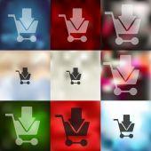 Trolley icon — Stock Vector