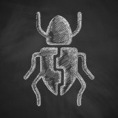 Beetle icon — Stock Vector