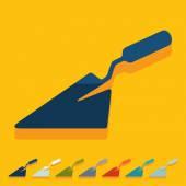 Trowel icon — Stock Vector