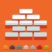 Brickwork icon — Stock Vector