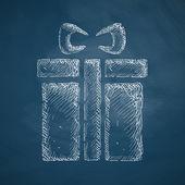 Gift box icon — Stock Vector