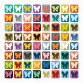 Butterfly icon — Stock Vector