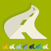 Road icon — Stock Vector