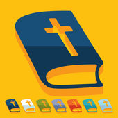 Bible icons — Stock Vector