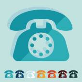 Telephone icon — Stock Vector