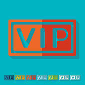 Vip icons — Stock Vector