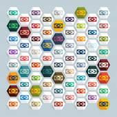 Videotapes icon — Vector de stock