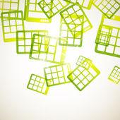 Abstrait avec calculatrice — Vecteur