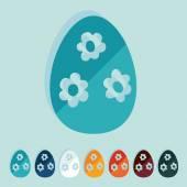 Easter egg icon — Stockvector