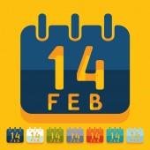 Valentine icon — Stock Vector