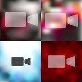 Video icon — Stock Vector