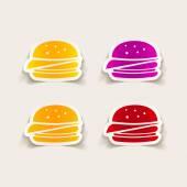 Sandwich icon — Stock Vector