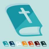 Bible icon — Stock Vector