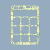 иконка калькулятор. векторные иллюстрации — Cтоковый вектор