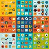 Av navigering ikoner — Stockvektor