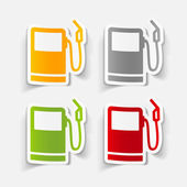 Gas station icon — Stock Vector
