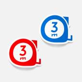 Cartridges meters icon — Stock Vector