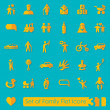 Set of family icons — Stock Vector #70602973