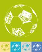 Ball shaped icon — Wektor stockowy