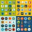 Set of Christmas icons — Stock Vector #72595551