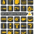Set of hygiene icons — Stock Vector #73087373