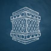 Lantern icon design — Stock Vector