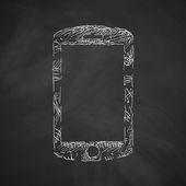 Smartphone icon design — Stock Vector