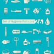 Set of hygiene icons — Stock Vector #80539334