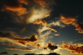 Sky clouds — Stock Photo