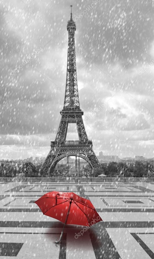 Дождь и зонт картинки