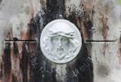 Religious Icon on Marble — Photo