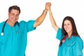 Successful Medical Professionals — Stock Photo