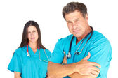 Confident Medical Professionals — Stock Photo
